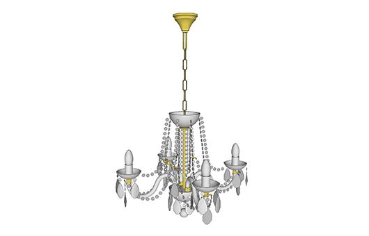 Chandeliers 3D Models - Chandeliers from Bohemia - Czech